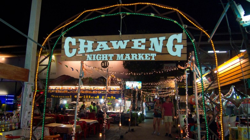 chaweng night market