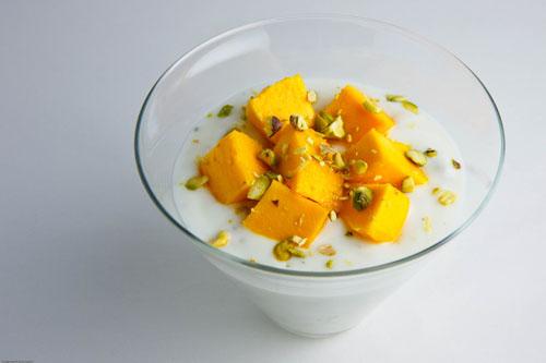 yaourt grec mangue