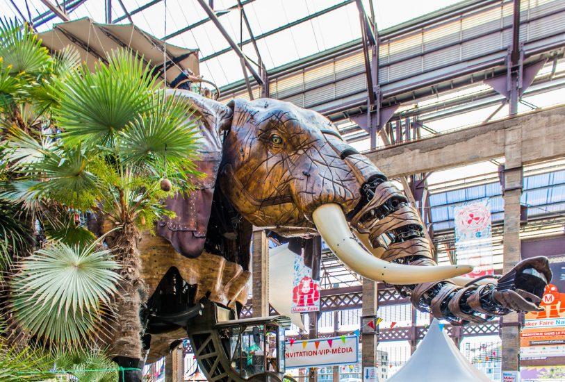 L'Elephant Géant, les Machines de l'Île