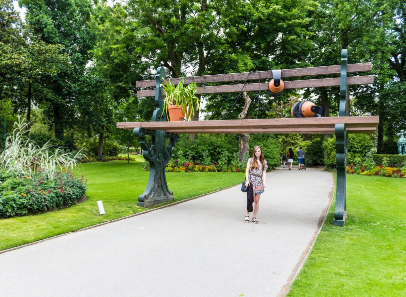 Le Banc Géant, Jardin des Plantes