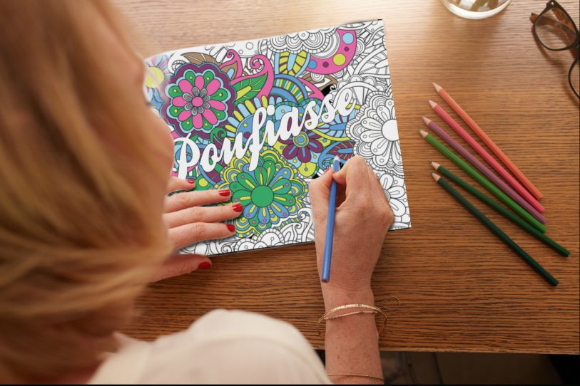 cahier coloriage insulte